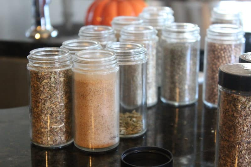 How to reuse old spice jars by using spices you cook with on a regular basis instead of obscure spices!