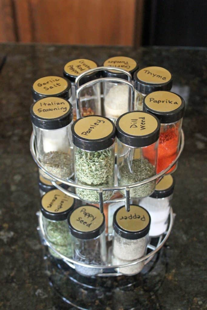 Make old spice jars useful again