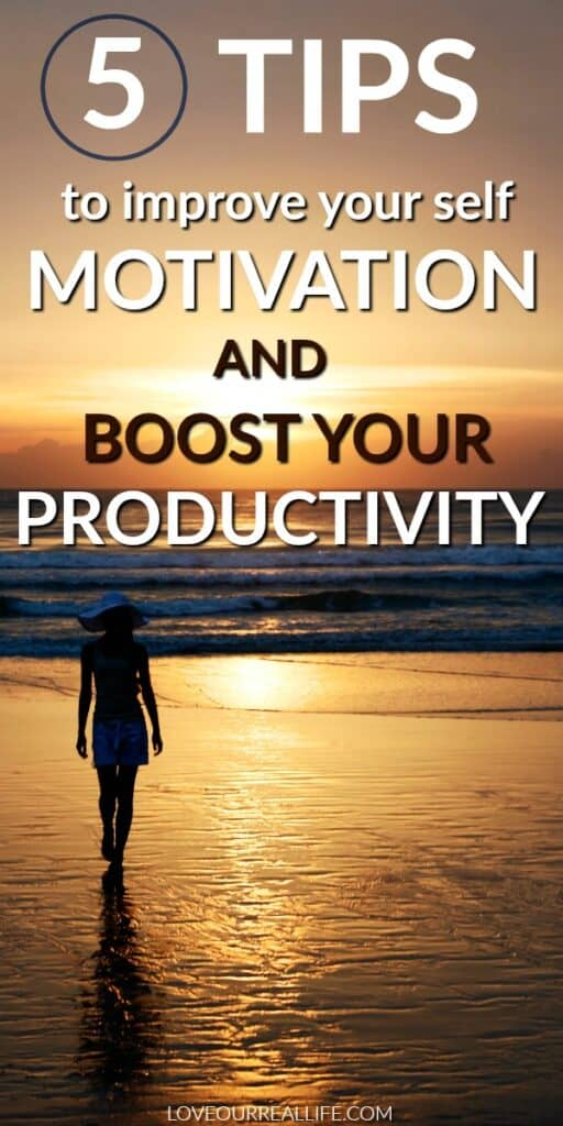 5 tips to improve your motivation