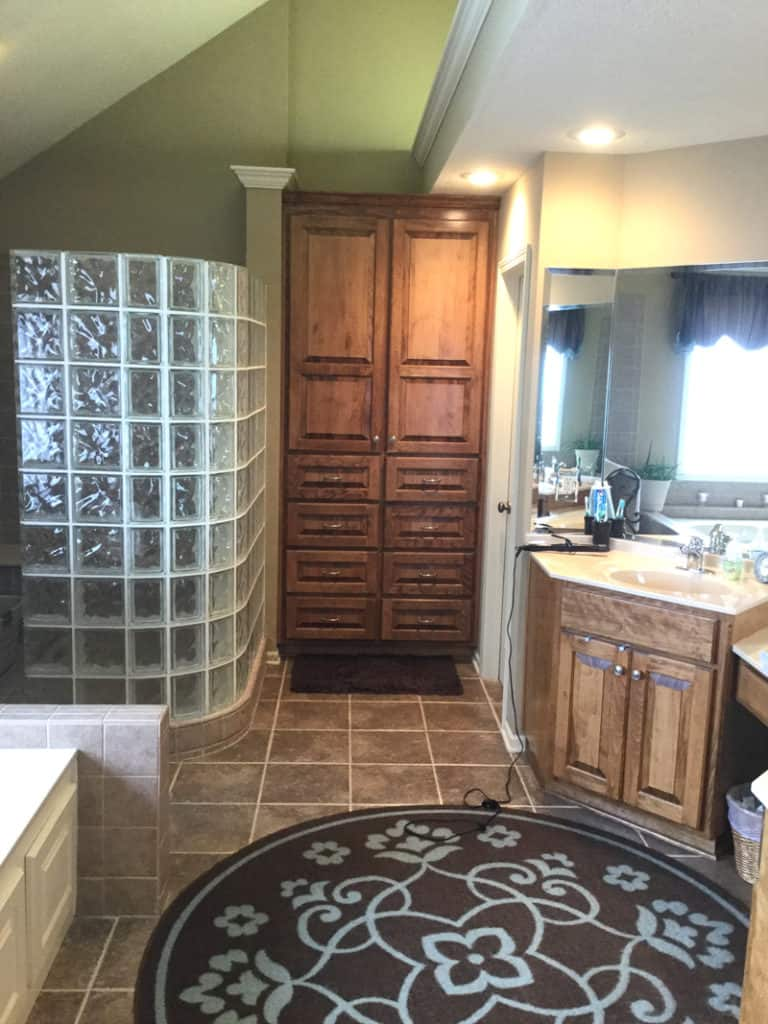 bathroom remodel, master bathroom remodel ideas, before and after master bathroom