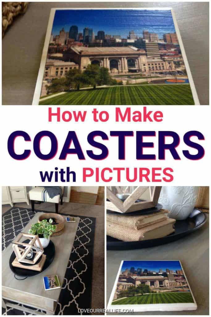 How to make coasters with pictures