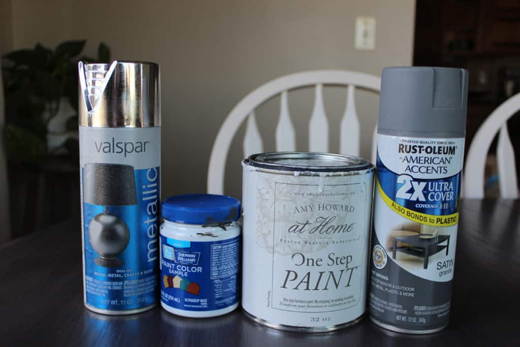 Spray paint, Amy Howard, Rustoleum, candlestick makeover