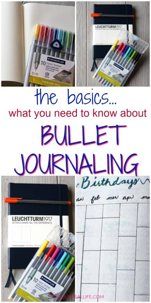 Tips on how to use a bullet journal