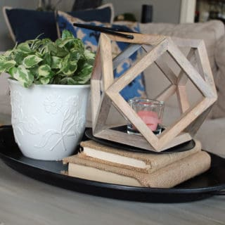 Vignette, coffee table vignetter