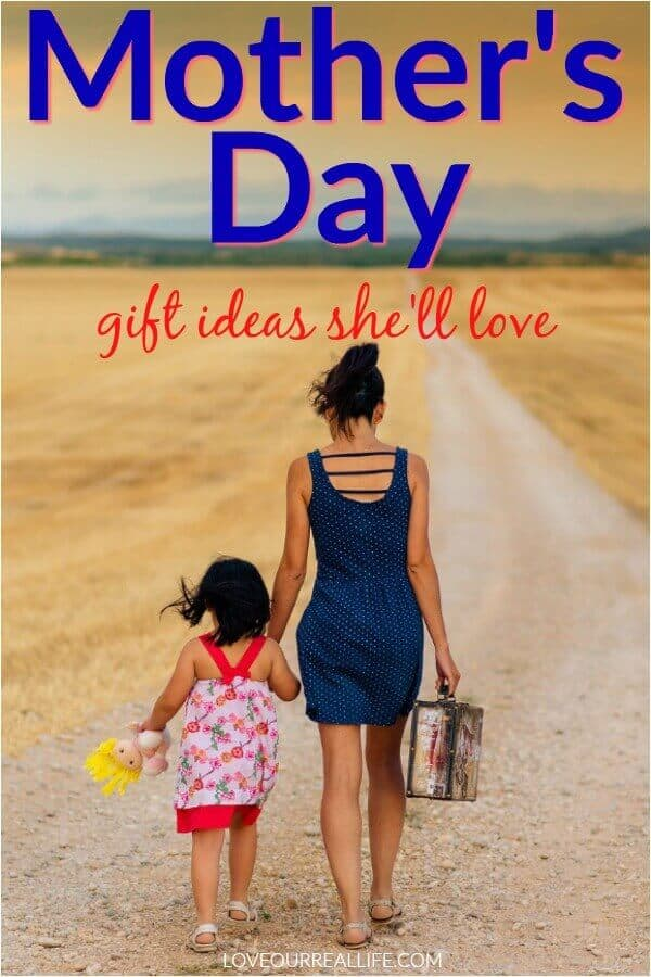 Mother's Day Gift unique ideas she'll love.