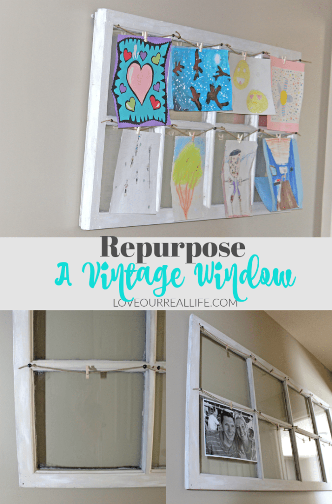 Vintage Window, Old window, repurpose old windows, Vintage window in decor