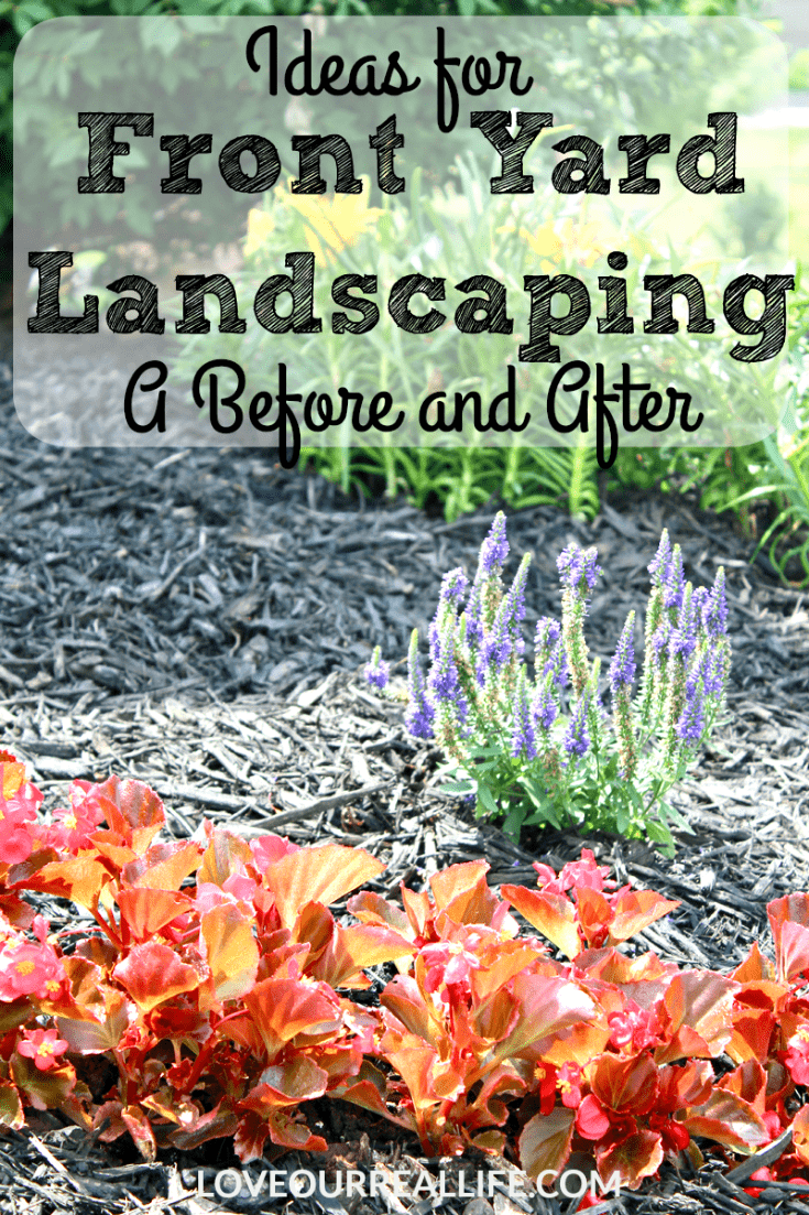 Get inspired with some great Ideas for Front Yard Landscaping | A Before and After