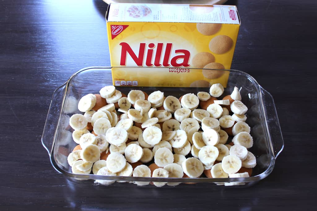 Add bananas to Nilla Wafers