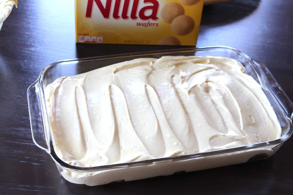 Fast banana dessert