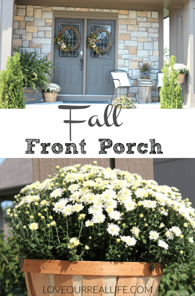 Fall front porch, decorating tips for front porch for fall, fall decor, mums in fall decor, Autumn decor, fall outdoor decor