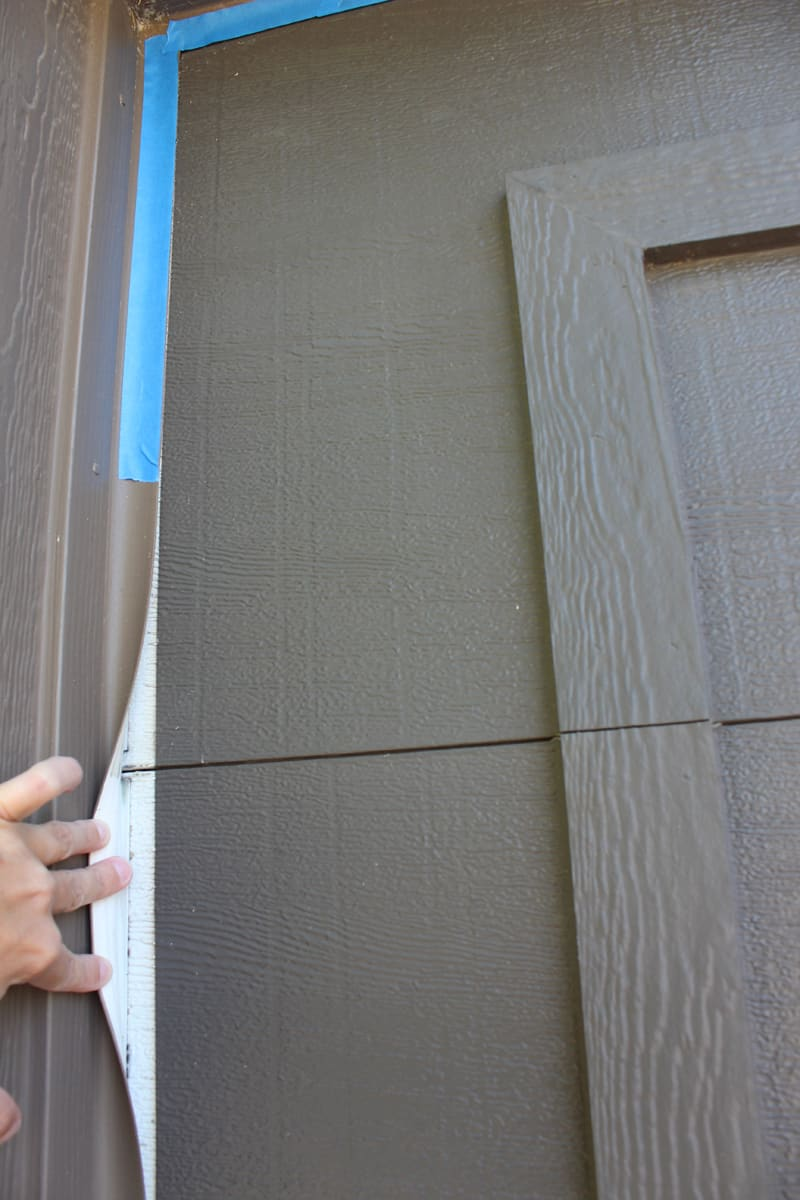Painting Faded Garage Doors Instant Curb Appeal Love