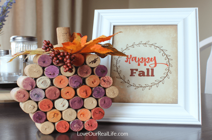 Wine Cork Pumpkin Make Your Own With This Easy Tutorial