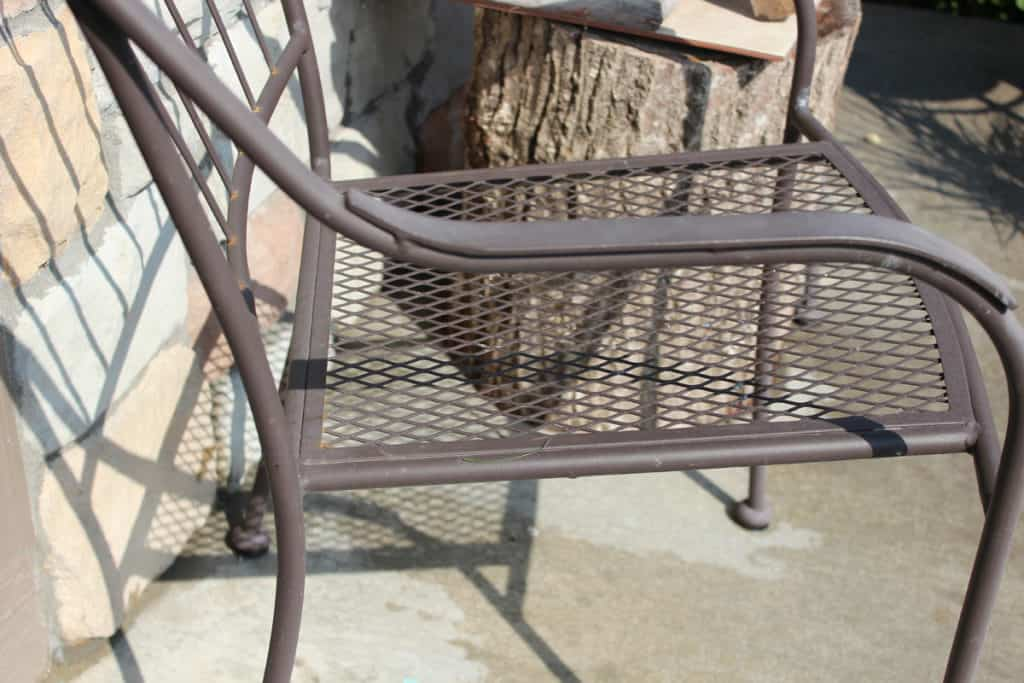 spray paint outdoor chairs, rustoleum spray paint, bronze spray paint