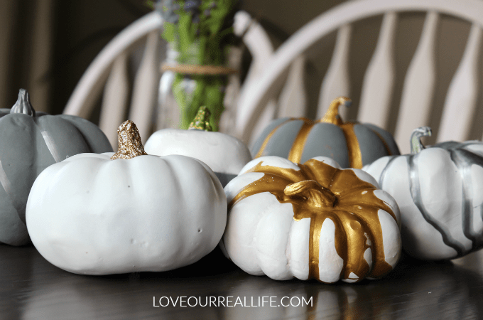Pumpkin Painting Ideas Use Acrylic And Spray Paint