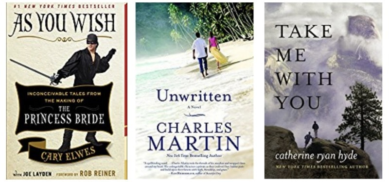 Books for all ages: As You Wish, Unwritten, Take Me With You