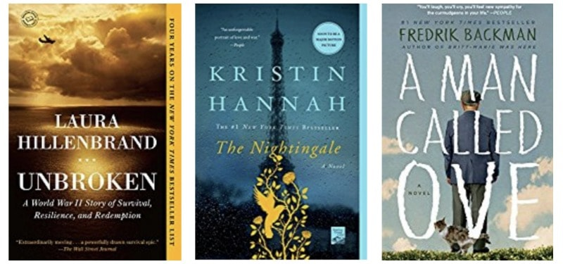 Books for all ages: Unbroken, The Nightingale, A Man Called One
