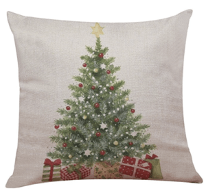 Christmas tree pillow cover, Inexpensive Christmas pillows
