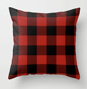 buffalo plaid pillow cover, buffalo plaid