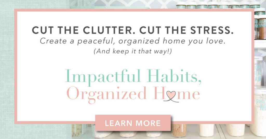 Abby Lawson course for decluttering