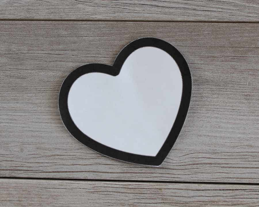 Heart clip art for Valentine's string heart banner