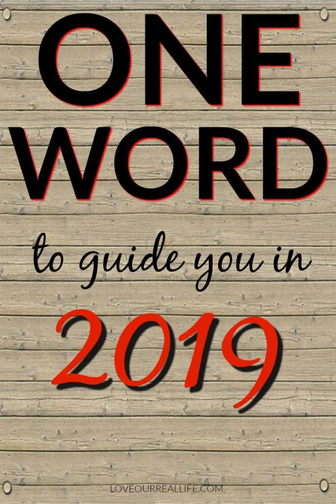 One word to guide you in 2019.