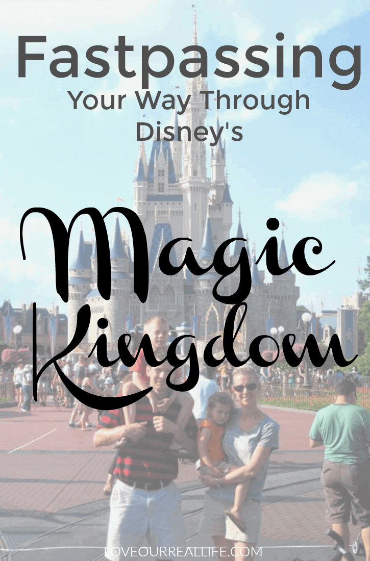 Disney's Magic Kingdom; How to use Fastpasses