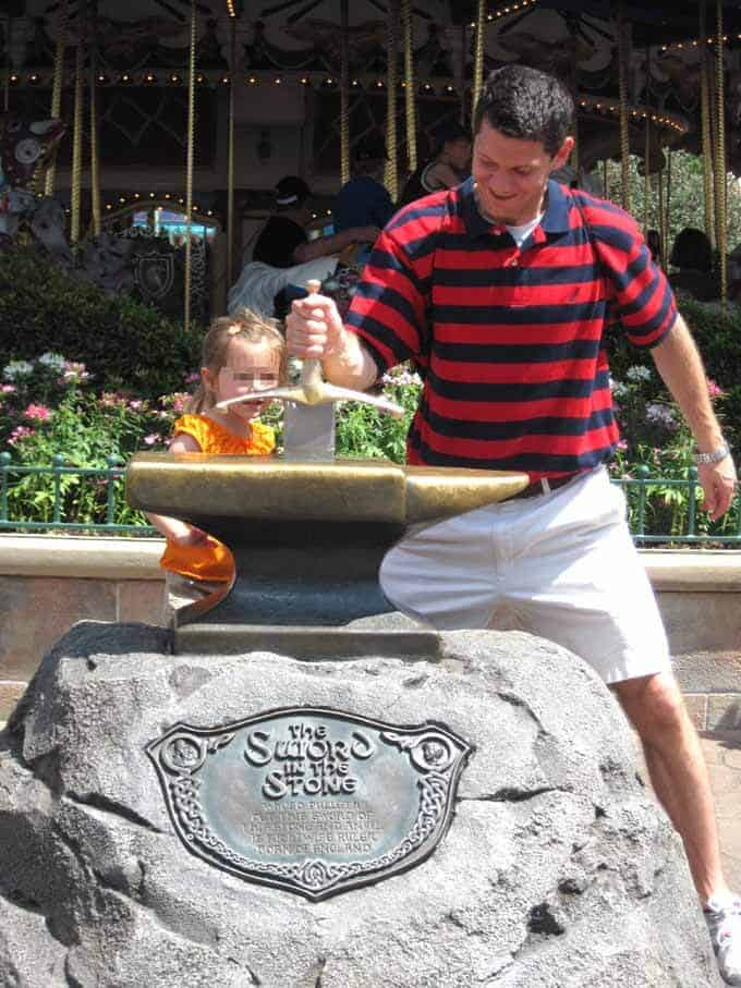 Disney's Magic Kingdom and The Sword in the Stone