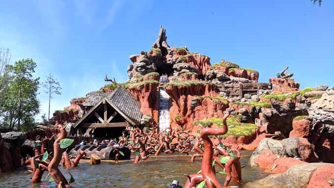 Splash Mountain in Disney World's Magic Kingdom