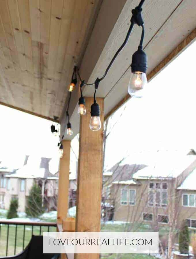Learn How To Hang Outdoor String Lights