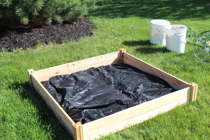 weed control mat is a gardening time saver for gardening when you don't have a lot of time!