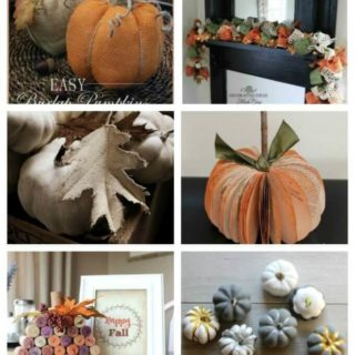 Easy Fall crafts roundup
