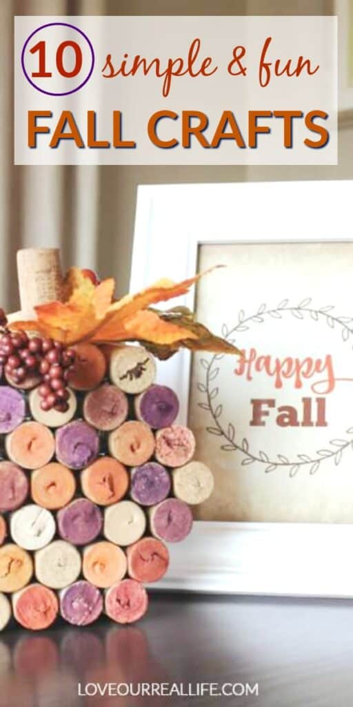 10 simple and fun fall crafts