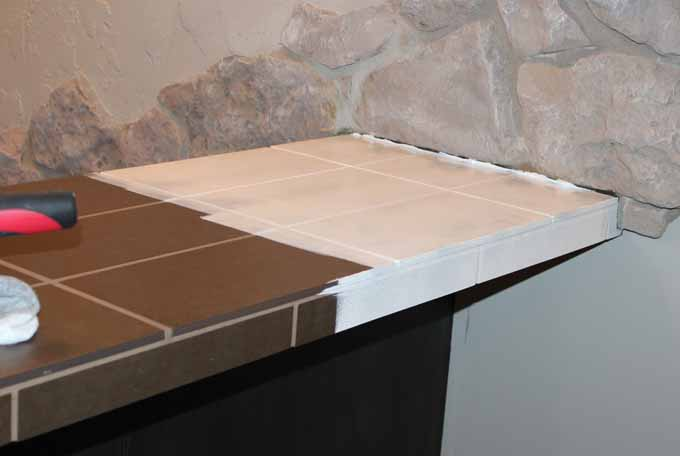 Stix primer on brown countertops.