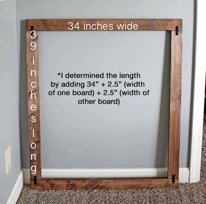 How to measure for bathroom mirror frame
