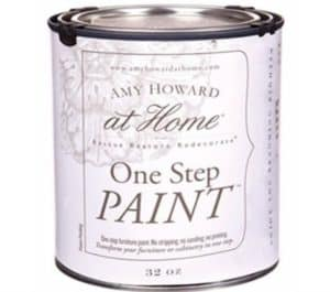 Amy Howard One Step Paint can