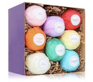 Variety pack of bath bombs