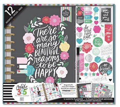 Happy planner in the Big Flower Pop Big option