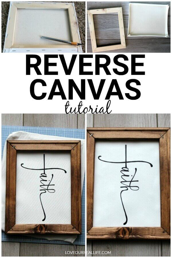 Reverse canvas tutorial