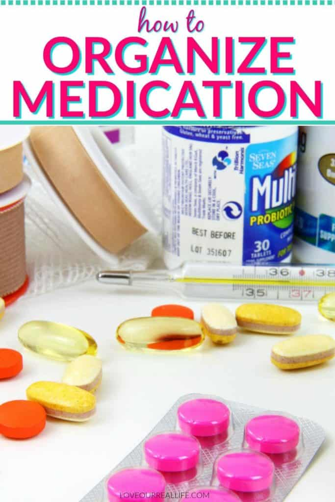 How to organize medications