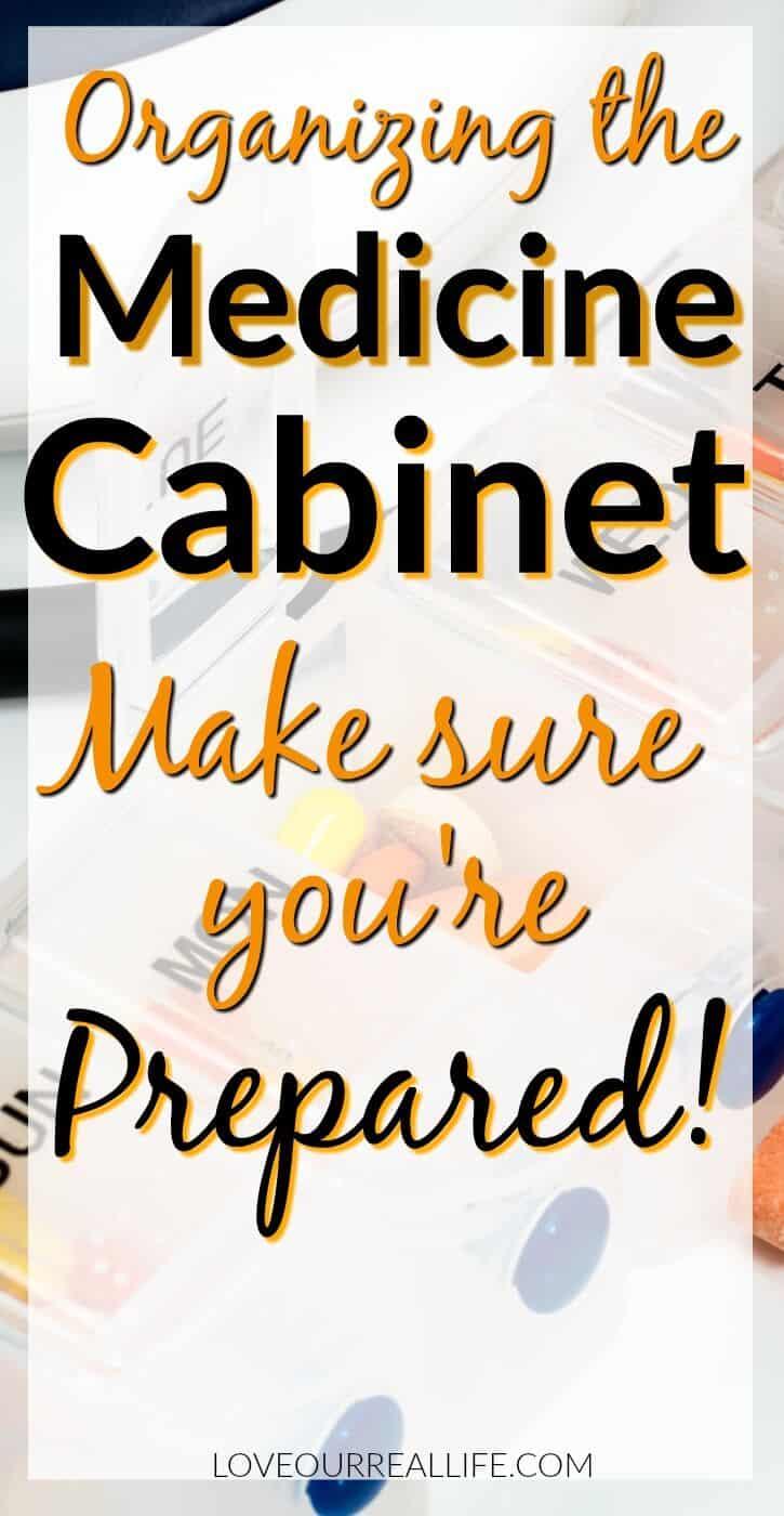 The medicine cabinet; Make Sure You're prepared!