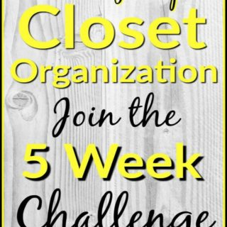 Real life tips for closet organization