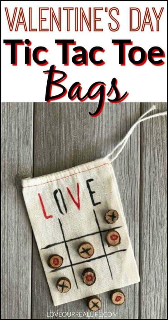Love Valentine Tic Tac Toe bags