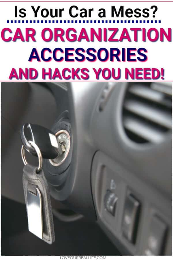 Is you car a mess: car organization accessories and hacks