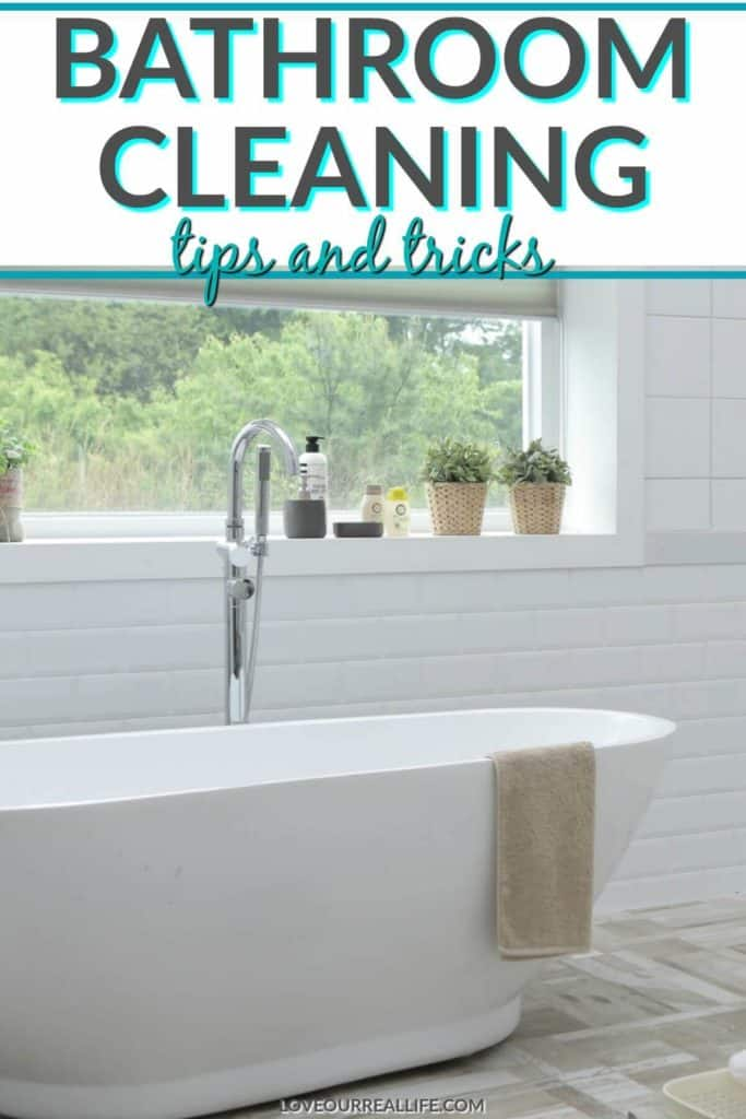 Bathroom Cleaning Tips for Every Day ⋆ Love Our Real Life