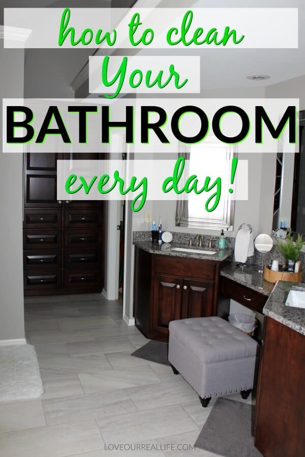 Bathroom cleaning tips for a relaxing bathroom