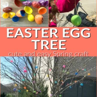 Easter Egg Tree for outside