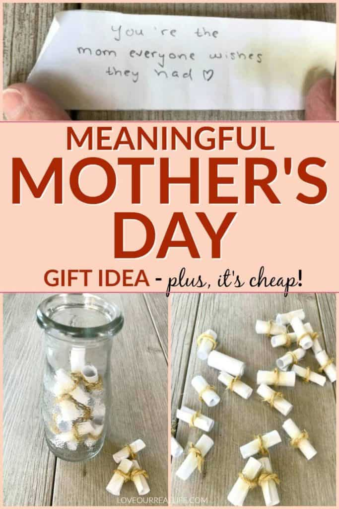 Meaningful Mother's Day Gift idea