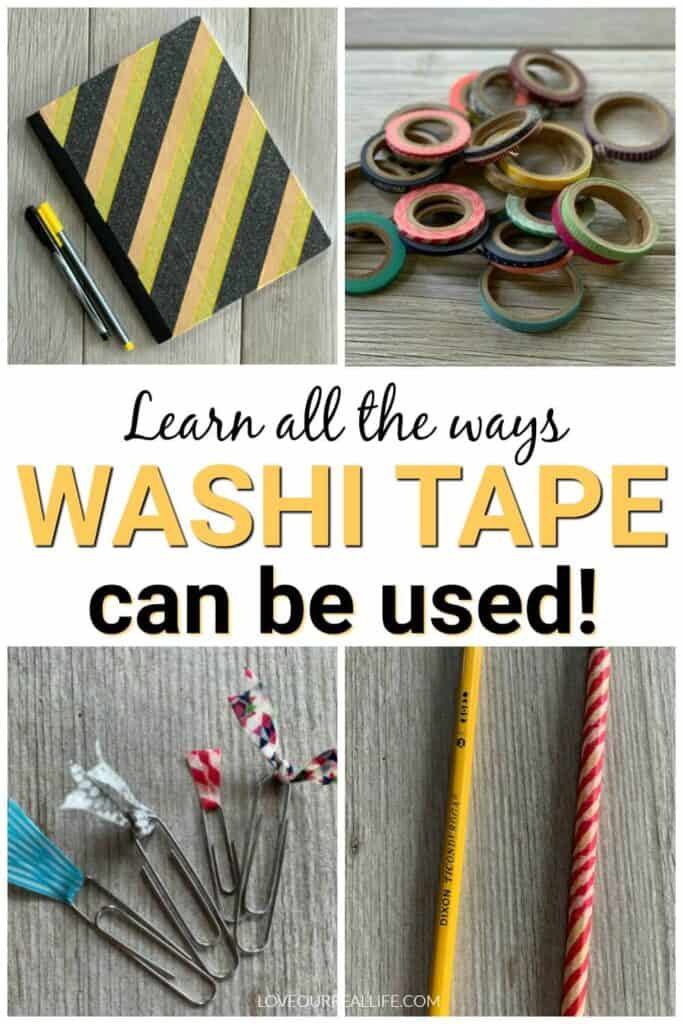 washi tape ideas for the home