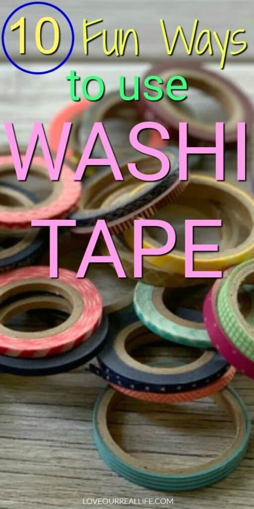 10 Fun ways to use washi tape