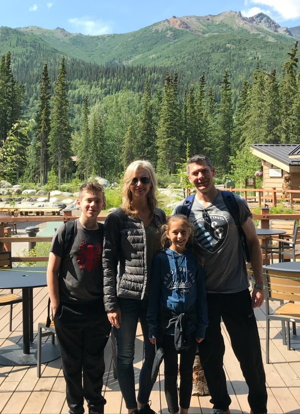 Family summer vacation in Alaska